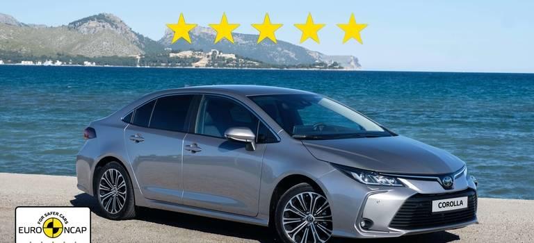 Новые Toyota Corolla иRAV4 получили высший балл Euro NCAP