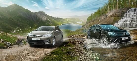 Toyota RAV4 иCorolla доступны вкредит без первоначального взноса