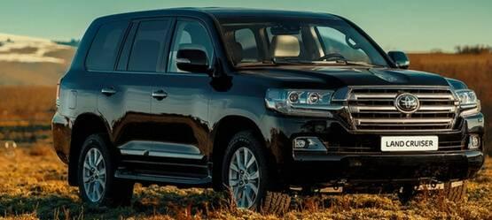 Автомобили Land Cruiser объединили вэкстренную мобильную сеть