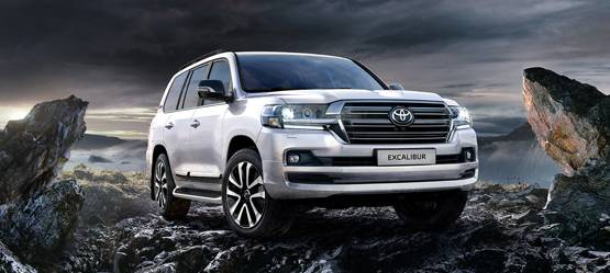 Toyota представила топ-версию Land Cruiser 200 Excalibur