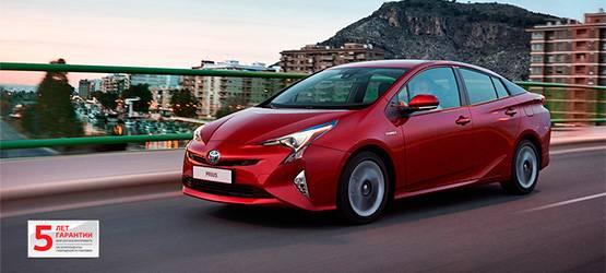 Новый Prius доступен вдилерских центрах Тойота вРоссии