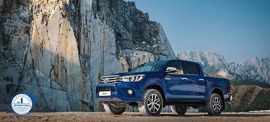 Автомобили Toyota сохраняют более 90% отпервоначальной стоимости после трех лет владения