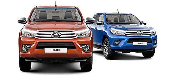 Техобслуживание Toyota Hilux