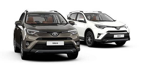 Техобслуживание Toyota RAV4