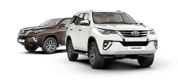 Техническое обслуживание Toyota Fortuner
