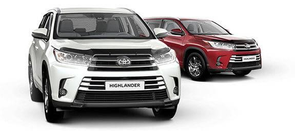 Техобслуживание Toyota Highlander