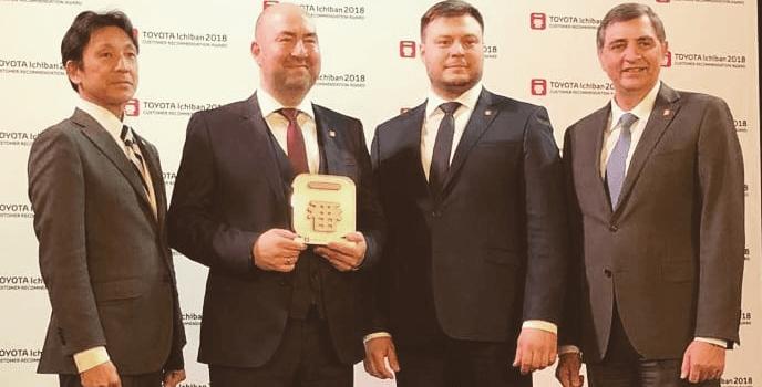«Тойота Центр Вологда» признан одним излучших дилеров вЕвропе