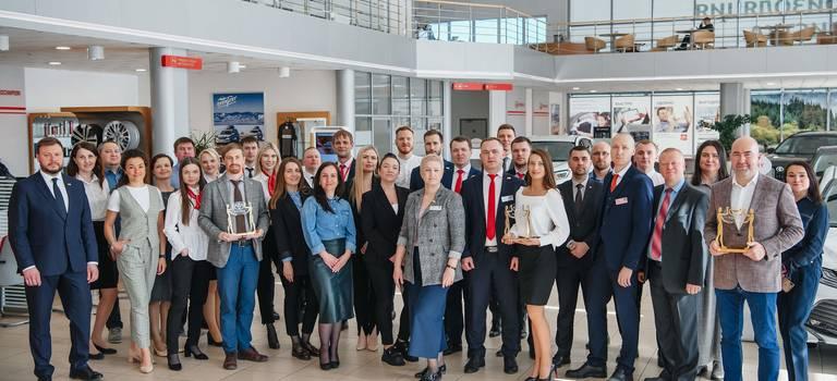 «Тойота Центр Вологда» вочередной раз подтвердил звание одного излучших дилеров России иЕвропы.