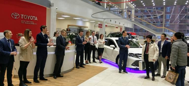 Группа инженерной разработки продуктов Toyota посетила Красноярск