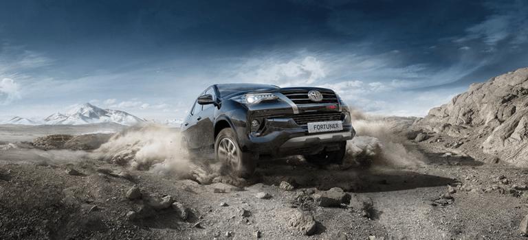 Toyota представляет Fortuner специальной серии оттюнинг-ателье Toyota Racing Development