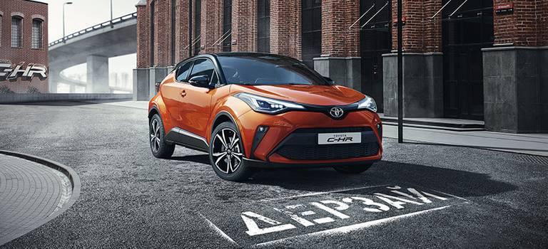 Открыт прием заказов наобновленный Toyota C-HR