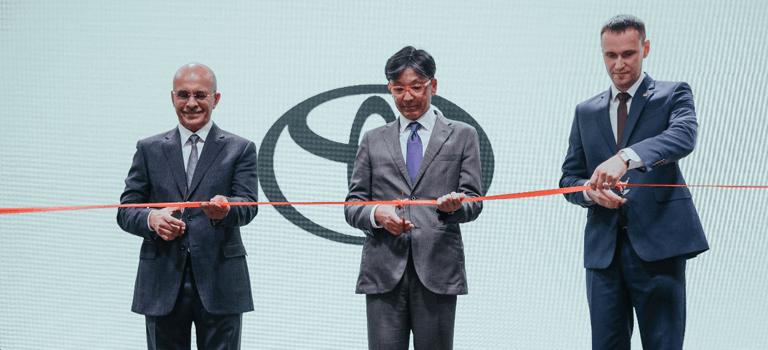 Компания ООО«Тойота Мотор» представила нового дилера вКрасноярске