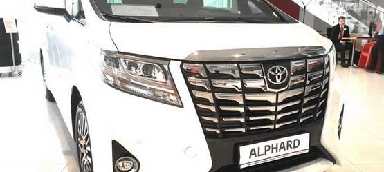 Единственный наУрале, новый Toyota Alphard вналичии!