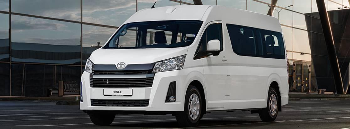 Профессионал: Toyota представляет вРоссии новое поколение Hiace