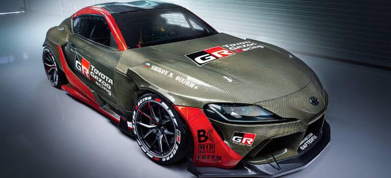 Впервые вРоссии: Toyota представляетGR Supra сэксклюзивным карбон-кевларовым кузовом для участия вГран-при Российской Дрифт Серии