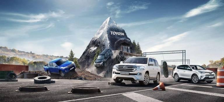 Испытай себя зарулем Toyota!