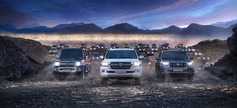 Легенда, признанная всем миром: глобальные продажи Land Cruiser превысили 10 миллионов автомобилей