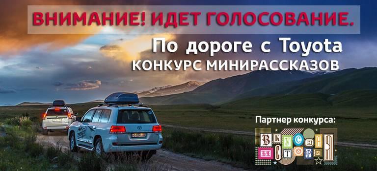 Подороге сToyota
