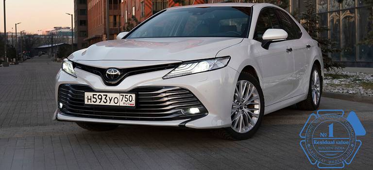 Модели Toyota лидируют всвоих сегментах покритерию остаточной стоимости