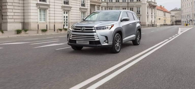Обзор Toyota Highlander