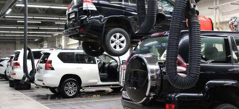 С7апреля сервисный центр Тойота Центр Омск возобновляет работу