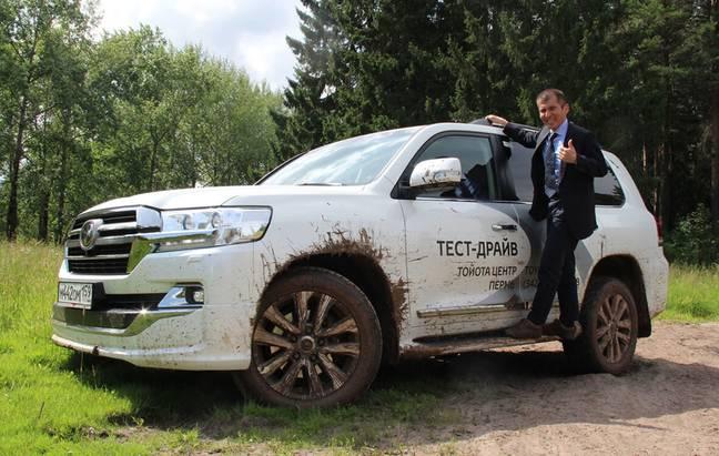 Идейный вдохновитель иглавный инженер внедорожников Toyota иLexus вПерми