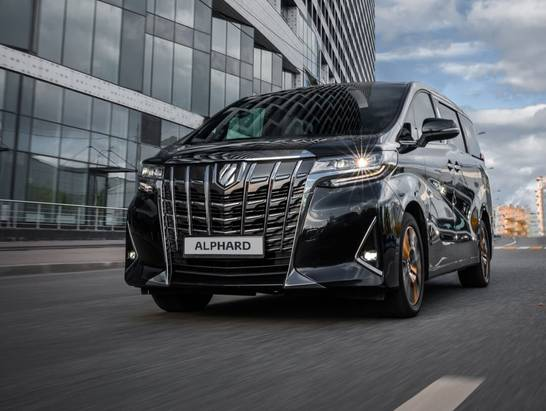 Toyota Alphard: правильное решение для Вашего бизнеса
