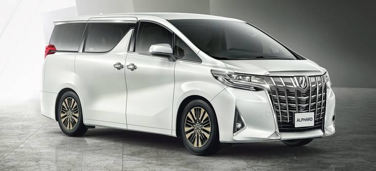 Toyota Alphard: комфорт пассажиров превыше всего.