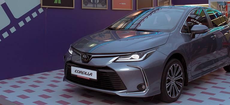Кинозвезда мировой величины— Toyota Corolla наStrelka Film Festival