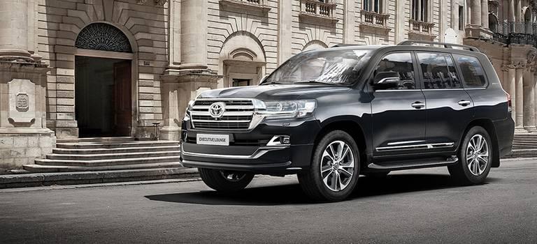 Старт продаж обновленного Toyota Land Cruiser 200