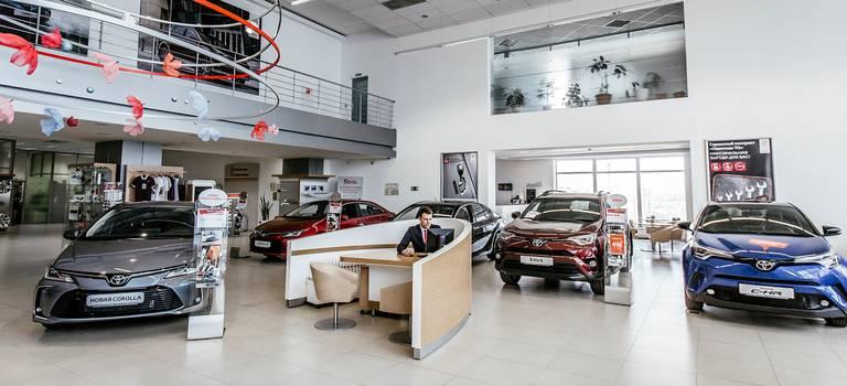 Выгоды напокупку Toyota вноябре
