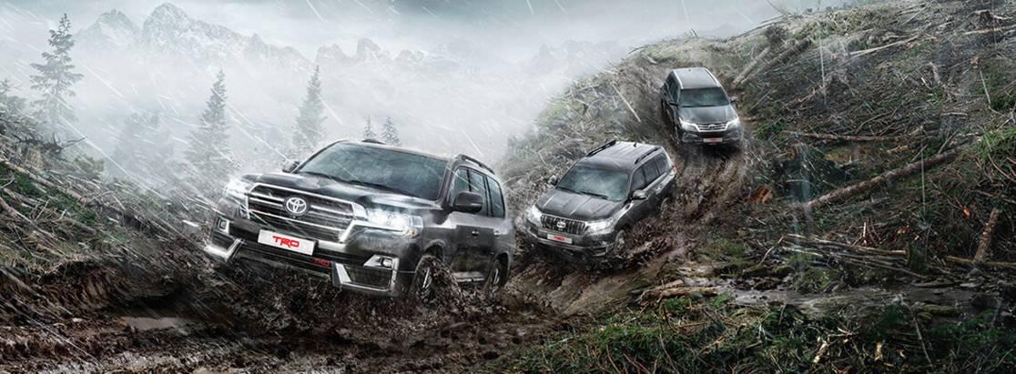Toyota расширяет линейку внедорожников вверсии TRD