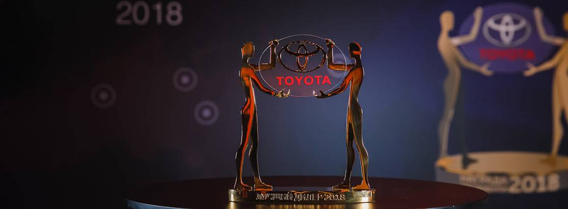 Тойота наградила лучших российских дилеров