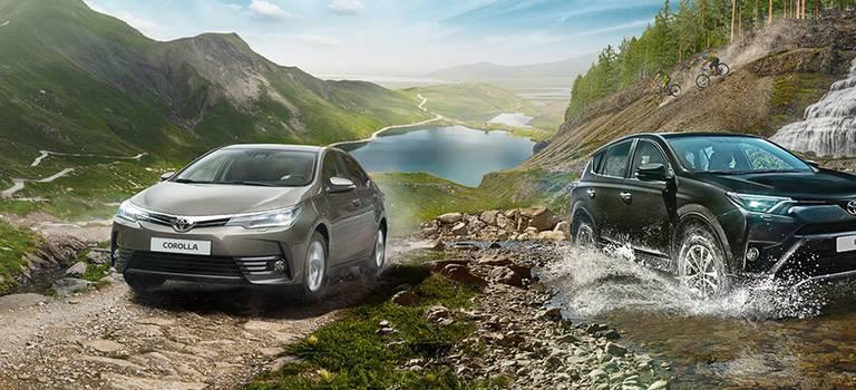 Тойота предложила кредит наRAV4 иCorolla без первоначального взноса