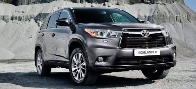 Новый Toyota Highlander уже впродаже!