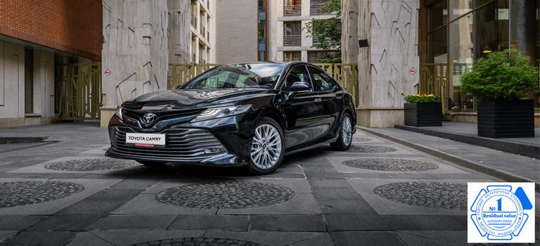 Настоящие ценности: высокая остаточная стоимость определяет успех Toyota Camry навторичном рынке