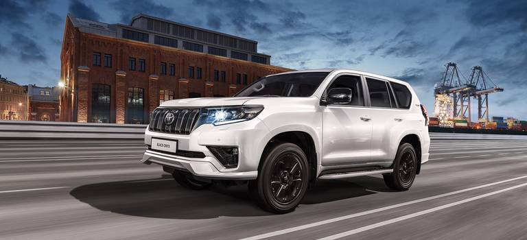 Старт продаж Toyota Land Cruiser Prado Black Onyx