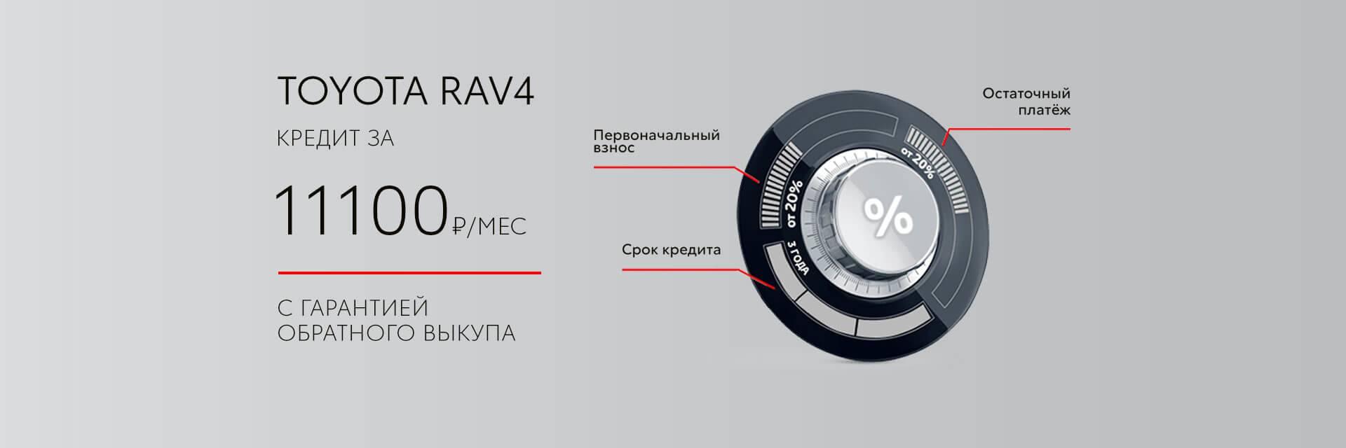 RAV4 кредит