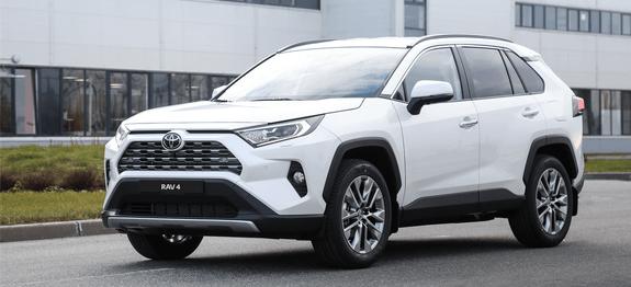 Старт дан: успешный запуск производства нового Toyota RAV4 вСанкт-Петербурге