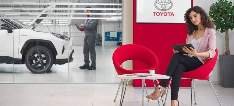 Официальный сервис Toyota