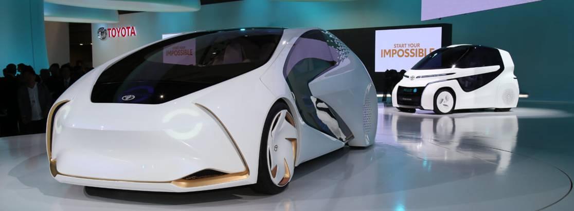 Toyota представила 10 новинок наТокийском автосалоне