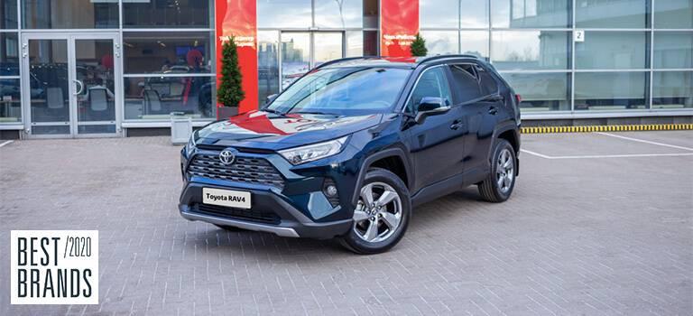 Выбор клиентов: Toyota— лучший корпоративный автомобильный бренд вРоссии