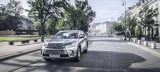 Новый Toyota Highlander