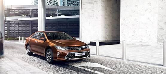 Приглашаем натест-драйв обновленной Toyota Camry!
