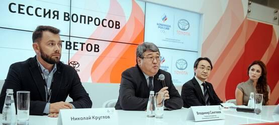 Тойота иОлимпийский Комитет России объявили оначале партнерства