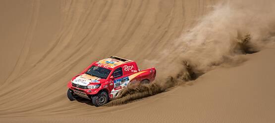 «НеШёлковый» путь Toyota: как ралли-рейд стал настоящей проверкой напрочность