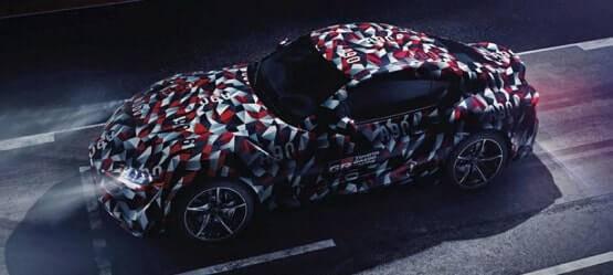 Камуфляж для новой Toyota Supra позаимствовали убоевых кораблей