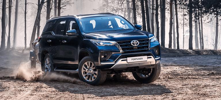 Toyota Hilux иFortuner стали доступны вофициальных дилерских центрах
