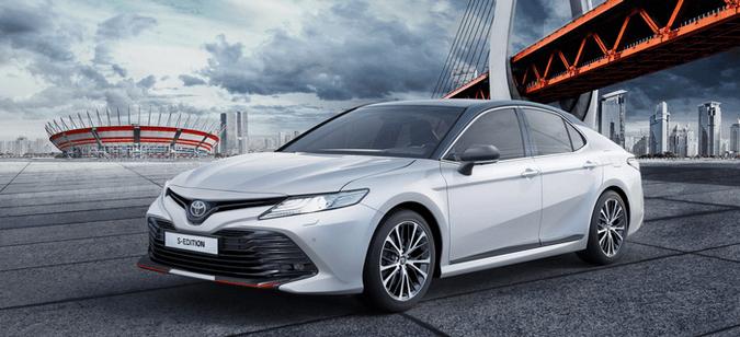 Бестселлер вдерзком исполнении: Toyota Camry вновой специальной версии S-Edition