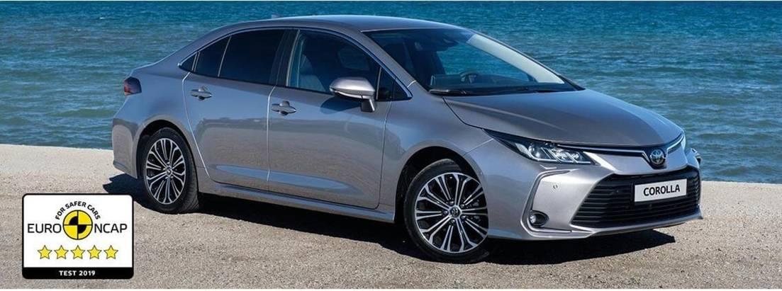 Toyota Corolla иRAV4 получили высший балл Euro NCAP